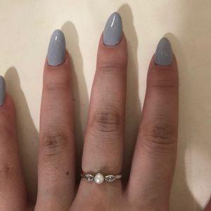 Pandora 100% Authentic Pearl Ring